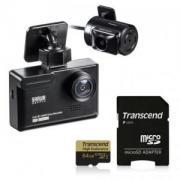 前後2カメラ付きドライブレコーダーと高耐久ドラレコ用microSDXCカード 64GBのお得なセット商品