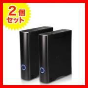 外付けハードディスク 2TB 3.5インチ USB2.0対応 Transcend製【2個セット】