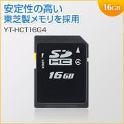 SDHCカード 16GB Class4対応 東芝製メモリ採用