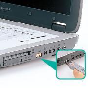 USBコネクタ取付けセキュリティ SL-46-D