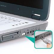 USBコネクタ取付けセキュリティ SL-46-W