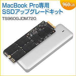 SSD 960GB JetDrive 720 MacBook Pro Retina